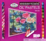 Kreatív hobby - Olajpasztell készlet 24, gyönyörű színek