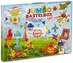 Kreatív hobby készlet gyerekeknek, 107 db-os készlet táskában - Egész évben kreatívan, heti egy ötlet!