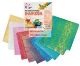 Irizáló papír, 50 lap, 14x14cm