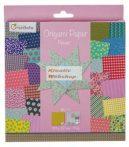 Origami papír - Virágos hajtogató készlet, 20x20cm, 60 lap