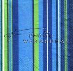 Kék csíkos - Szalvéta