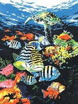 Kreatív hobby - Óceán mélyén