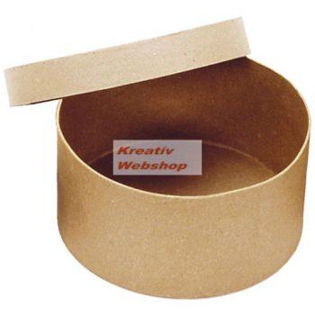 Kalapdoboz, nagyméretű papírdoboz, natúr, 1 db, 28x15cm, 25x14cm vagy 23x12cm