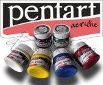 Akrilfesték készlet - 6 x 50 ml, 6 színű készlet