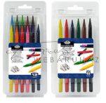 Színes tömör ceruzakészlet - Royal, 12 színű készlet