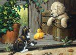 Kreatív kifestő készlet - Állatkölykök