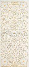Arany Virág, levél, átlátszó Peel-Off