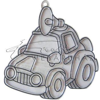 Ablakdísz forma, sablon (Suncatcher, fényvarázs, naplopó) - Tárgyak (autó, cipő, esernyő, gyémánt, ház, hópehely, masni, űrhajó)