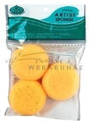 Kreatív hobby - Festőszivacsok - Royal Sponge  3 - természetes tengeri szivacskészlet 3 db-os készle