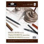 Bristol vázlattömb - Nagyon síma, pergamenszerű felületű papírok - 23x30,5cm - 220gr, 15 lap