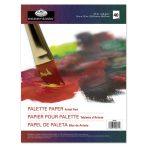 Papír paletta tömb, eldobható, 23x30,5 cm, 60 grammos, 40 db-os