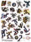 Kicsi karton Transformers matricák