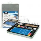 Akvarell ceruzakészlet - fémdobozos - Royal - 21db-os akvarell készlet