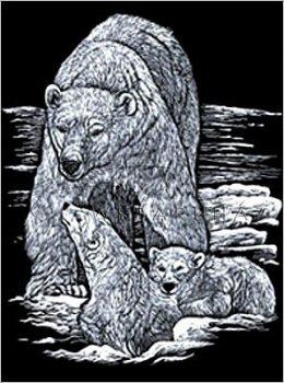 Kreatív hobby - Jegesmedve