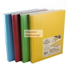 Vázlattömb Display készlet - Royal SketchBook A4 - élénk színes keménykötéses vázlatkönyv - 8 db (pi