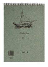 Vázlattömb - SMLT Sketch Pad - Fehér, 90gr, 120 lapos A4