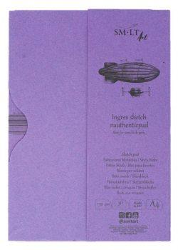Pasztellelltömb mappában - SMLT Ingres Sketch Pad 130gr, A4