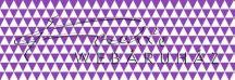 Kartonpapír - Lila-fehér, geometrikus háromszögek mintás karton 29,5x20cm, 1 lap