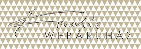 Kartonpapír - Taupe (szürkés-barna), geometrikus háromszögek mintás karton 29,5x20cm, 1 lap