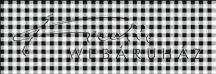 Kartonpapír - Kockás fekete karton, 29,5x20cm, 1 lap