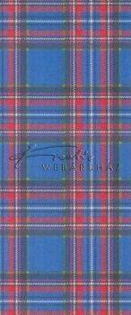 Kartonpapír - Kék skót-kockás mintás, Karton