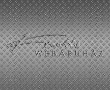 Kartonpapír - Bordázott acélfelület, fémpadló mintás, 1 lap