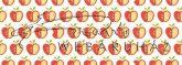 Kartonpapír - Apró mintás karton, Almák, 1 lap