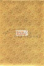 Holografikus kartonpapír - Arany hullámzó homok mintával, 20x30 cm, 1 lap
