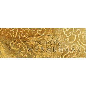 Holografikus kartonpapír - Arany Fantázia mintával, 20x30 cm, 1 lap