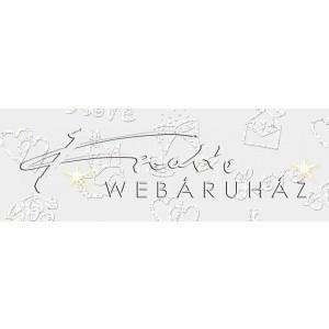 Kartonpapír - Esküvői fehér kartonpapír, 220 gr. A4 - 1 lap
