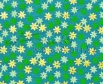 Dekorpapír - India style Garja 03 motívum, kézzel készített Natúr papír, kék-arany virágok