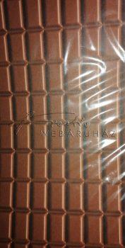 Karton papír - Csokitábla mintás