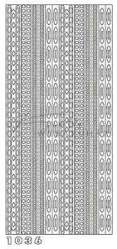 Lila Apró, geometrikus minták, Peel-Off