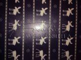 Transzparens papír - Kék rénszarvas